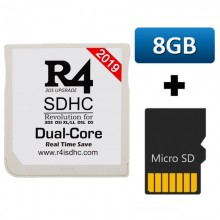 R4 3DS Dual Core with 8GB micro SD memory